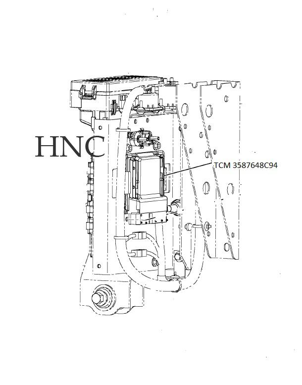 International Navistar Parts Diagrams