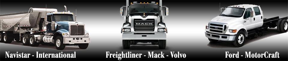 Heavey Duty Truck Parts Banner